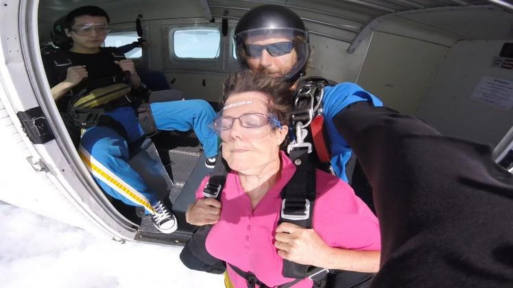 Photo skydive jump