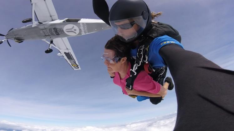 Photo skydive free fall