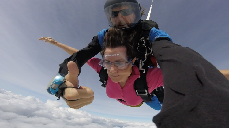 Photo skydiving tandem