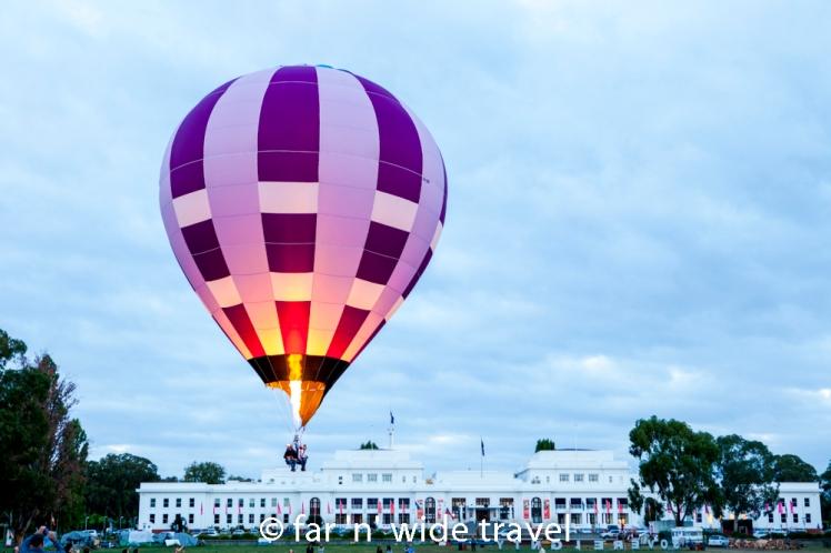 Hot Air Ballooning Canberra